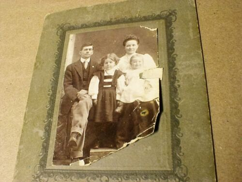 Floyd Hill Spray Leaksville NC original vintage family Photograph 1900's  Eden