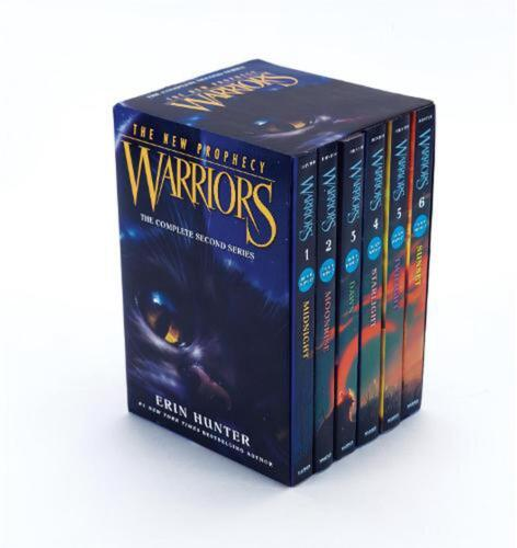 Warriors: the New Prophecy Box Set: Volumes 1 to 6: The Complete Second Series b