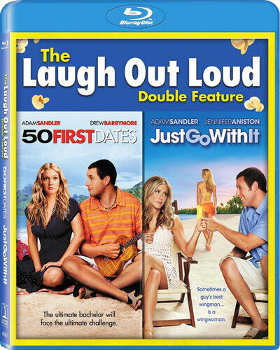 50 First Dates / Just Go With It - 2 DISC SET (2016, Blu-ray NEW)