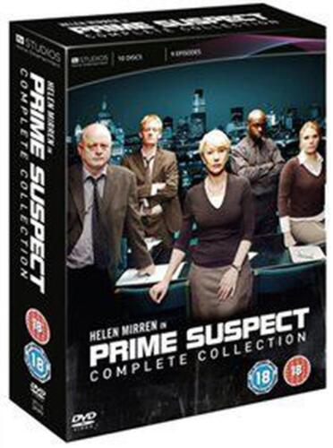 Prime Suspect: Complete Collection - DVD Region 2 Free Shipping!
