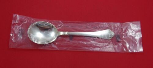 "Richelieu by Puiforcat Sterling Silver Cream Soup Spoon 6 3/4"" (Retail $740) New"