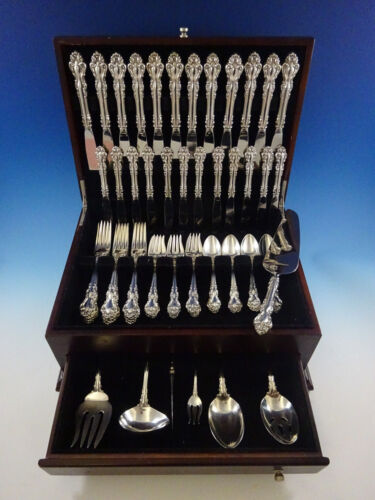 Spanish Baroque by Reed and Barton Sterling Silver Flatware Set Service Dinner