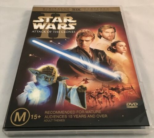 Star Wars - Episode II - Attack Of The Clones - 2 Disc Edition DVD Region 4 PAL