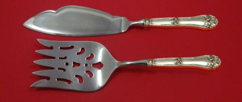 Champlain by Amston Sterling Silver Fish Serving Set 2 Piece Custom Made HHWS
