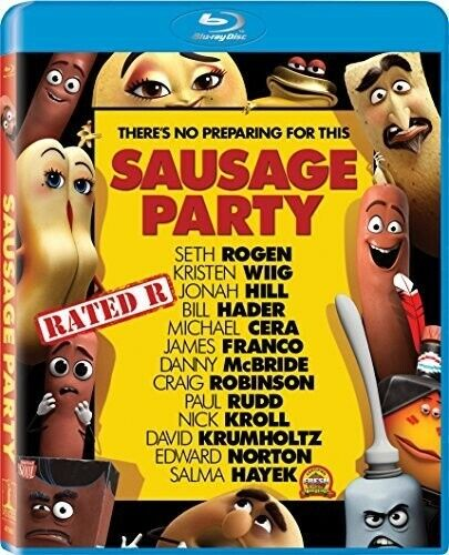 Sausage Party (2016, Blu-ray NEW)
