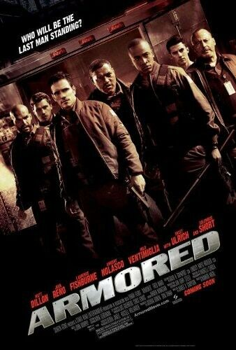 Armored (2010, DVD NEW)