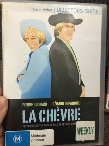 La Chevre ex-rental region 4 DVD (1981 Gerard Depardieu French movie) ** RARE **