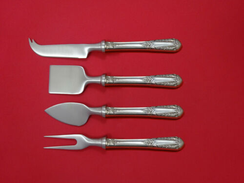 Inaugural by State House Sterling Silver Cheese Serving Set 4 Piece HHWS  Custom