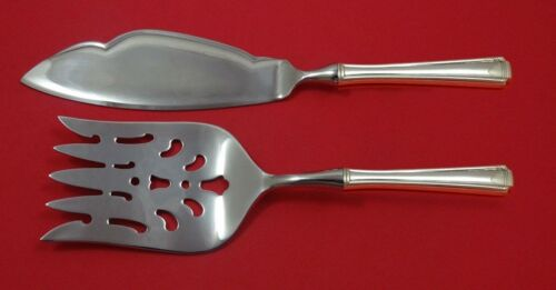John and Priscilla by Westmorland Sterling Silver Fish Serving Set Custom HHWS