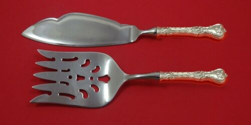 King Edward by Whiting Sterling Silver Fish Serving Set 2 Piece Custom HHWS