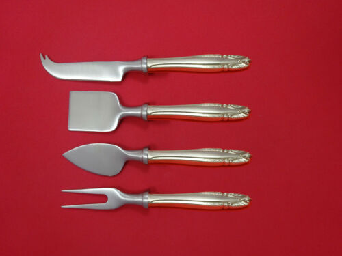Stradivari by Wallace Sterling Silver Cheese Serving Set 4 Piece HHWS  Custom