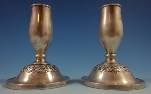 Old Master by Towle Sterling Silver Candlestick Pair #230 (#1362)