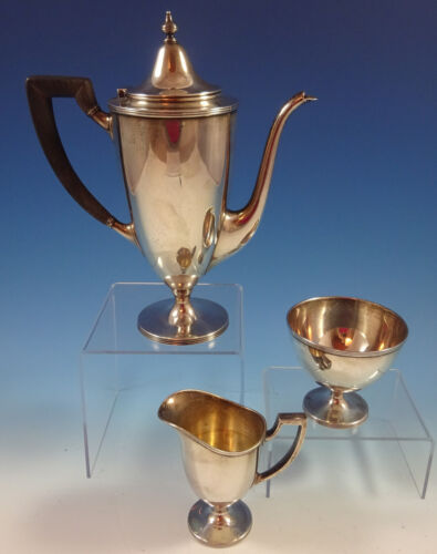 Windham by Tiffany and Co Sterling Silver Tea Set 3pc (#1369)