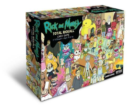 Rick and Morty Total Rickall Cooperative Card Game - Cryptozoic Entertainment Fr