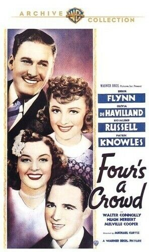 Four's a Crowd (2010, DVD NEW)