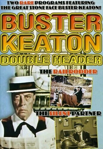 Buster Keaton Double Header (2008, DVD NEW)