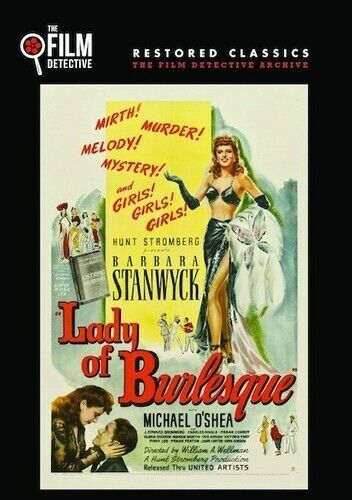 Lady Of Burlesque (2016, DVD NEW)