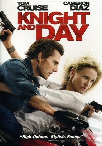 Knight and Day (2012, DVD NEW) WS