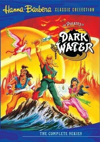 Hanna-Barbera Classic Collection: The Pirates of Dark Wate (2010, DVD NEW) DVD-R