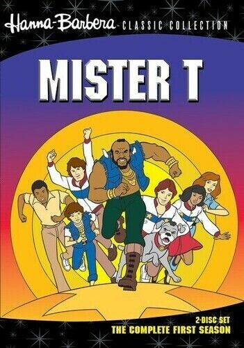 Hanna-Barbera Classic Collection: Mister T - The Complete  (2011, DVD NEW) DVD-R