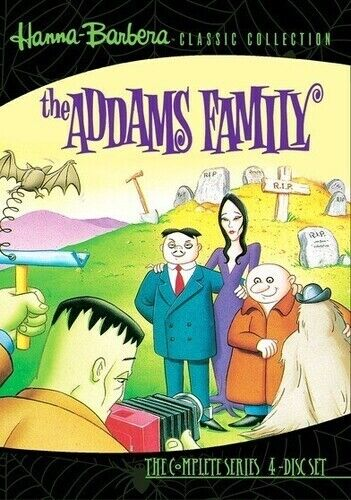 Hanna-Barbera Classic Collection: The Addams Family - The  (2010, DVD NEW) DVD-R
