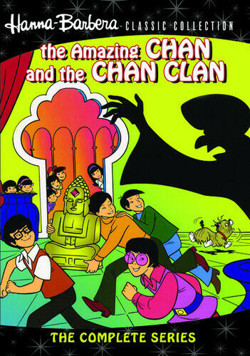 Hanna-Barbera Classic Collection: The Amazing Chan and the (2012, DVD NEW) DVD-R