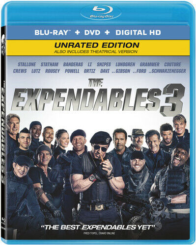 Expendables 3 - 2 DISC SET (2014, Blu-ray NEW)