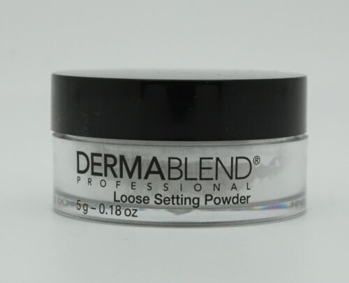 Dermablend Professional Loose Setting Powder, .18 Ounce (NEW)