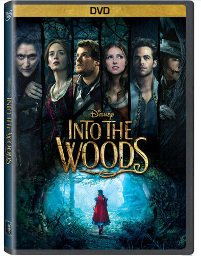 Into The Woods (2015, DVD NEW)