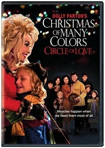 Dolly Parton's Christmas Of Many Colors: Circle Of (2016, DVD NEW)