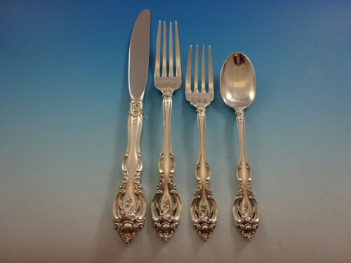 La Scala by Gorham Sterling Silver Flatware Set For 6 Service 24 Pieces
