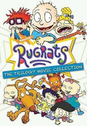 Rugrats Trilogy Movie Collection (2017, DVD NEW)