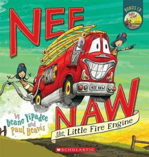 Nee Naw the Little Fire Engine by Deano Yipadee Paperback Book Free Shipping!