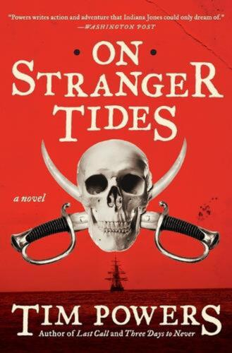 On Stranger Tides by Tim Powers (English) Paperback Book Free Shipping!
