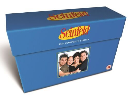 """SEINFELD COMPLETE SERIES COLLECTION DELUXE DVD BOX SET 33 DISC R4 """"NEW&SEALED"""""""