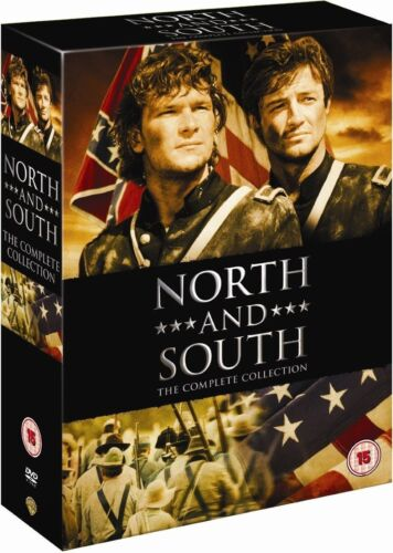 """NORTH AND SOUTH COMPLETE SERIES COLLECTION 8 DISC DVD BOX SET R4 """"NEW&SEALED"""""""