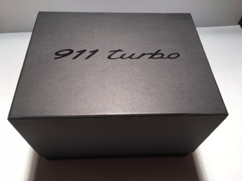 911 Porsche Turbo Promo CAR Box - MODEL & BROCHURE
