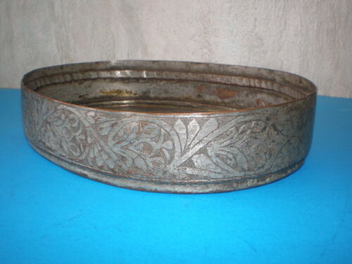 Antique Islamic/Persian hand made engraved ornate tray of 17-18th century - RARE