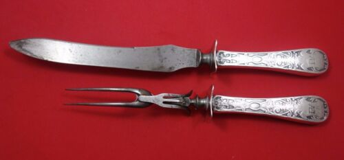 Sheraton by Mount Vernon Sterling Silver Roast Carving Set 2pc HHWS
