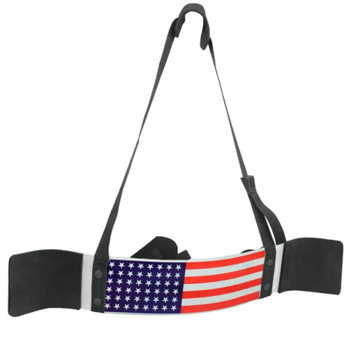 BUKA GYM WEIGHT LIFTING HEAD NECK STRENGHT HARNESS STRAP EXERCISE FITNESS