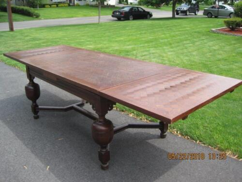 Jacobean style draw dining table,ENGLISH OAK,in Massachusetts,shipping available