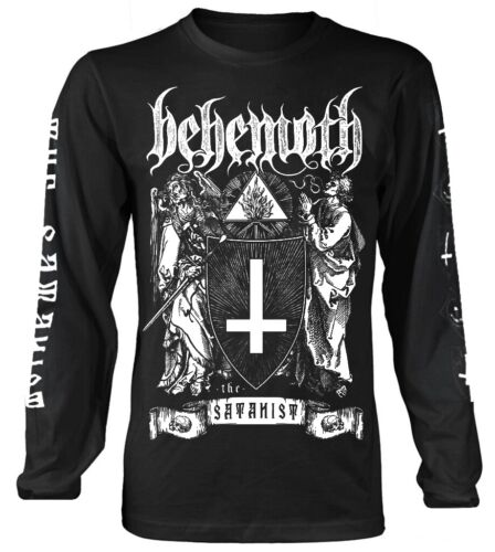 Behemoth 'The Satanist' Long Sleeve Shirt - NEW & OFFICIAL!