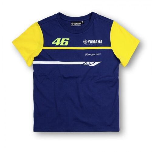 VR46 Official Yamaha Rossi Kids T Shirt Casual Top YDKTS 272503 to fit 5//6 year
