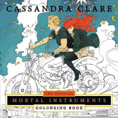 Official Mortal Instruments Colouring Book by Cassandra Clare Paperback Book Fre