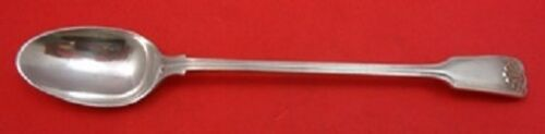 """Fiddle and Shell By Spaulding and Co. Sterling Silver Iced Tea Spoon 7 5/8"""""""