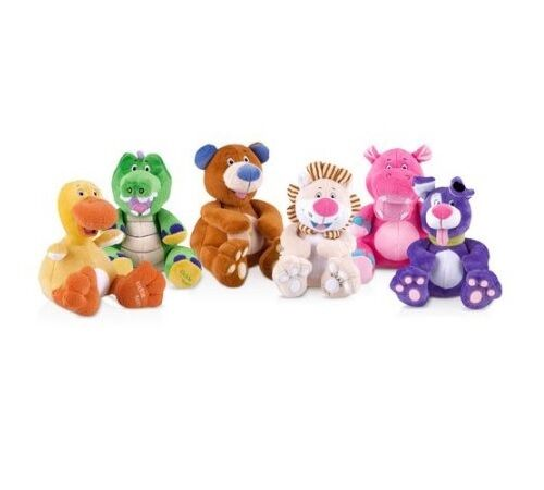 Nuby Hugs N Tickles Plush Toys-CUTEST GIGGLING BABY EVER!! YOU HAVE TO LAUGH TOO