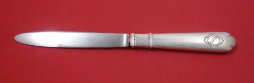 """Richelieu by Puiforcat French Sterling Silver Tea Knife with Mono 8"""""""