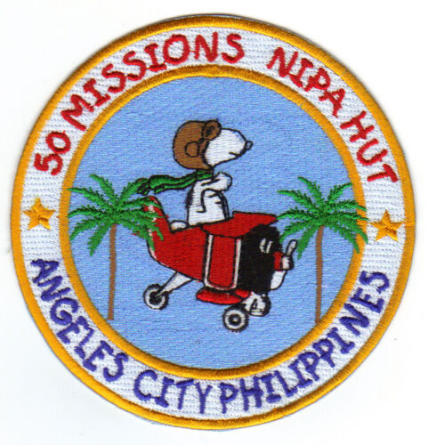 WAS ADVENTURE    Y NIPA HUT ANGELES CITY PATCH NOT JUST A PLACE NEAR CLARK AB