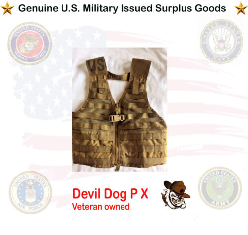 FLC Tactical Vest USMC Coyote MOLLE II (Excellent Condition)  Other Current Field Gear - 36071