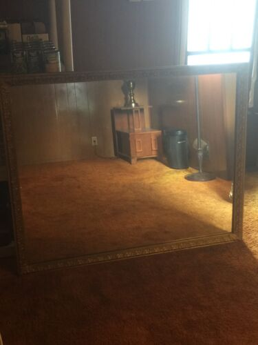 Antique Vintage Large Mirror